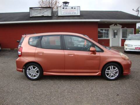 2008 Honda Fit for sale at G and G AUTO SALES in Merrill WI