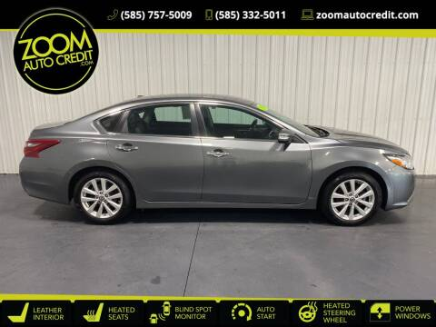 2018 Nissan Altima for sale at ZoomAutoCredit.com in Elba NY