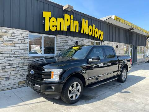 2018 Ford F-150 for sale at TenPin Motors LLC in Fort Atkinson WI