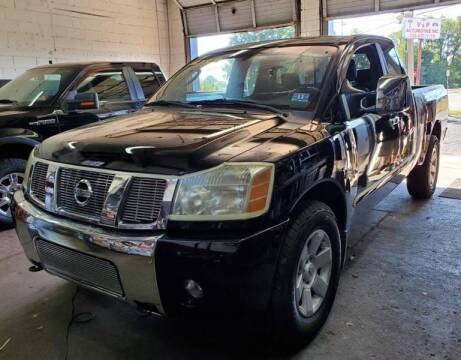 2004 Nissan Titan for sale at CANDOR INC in Toms River NJ