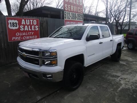 2014 Chevrolet Silverado 1500 for sale at 183 Auto Sales in Lockhart TX