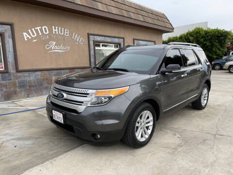 2015 Ford Explorer for sale at Auto Hub, Inc. in Anaheim CA