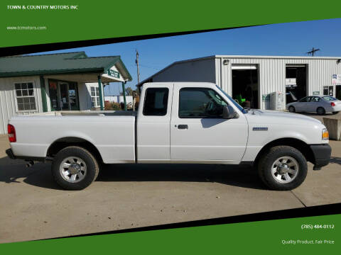 2011 Ford Ranger for sale at TOWN & COUNTRY MOTORS INC in Meriden KS