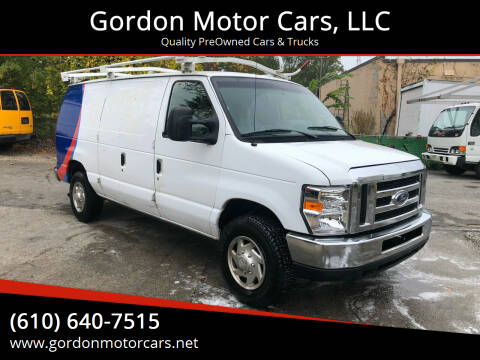 2014 Ford E-Series Cargo for sale at Gordon Motor Cars, LLC in Frazer PA
