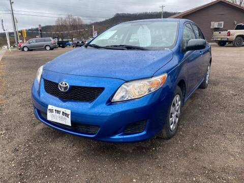 2010 Toyota Corolla for sale at Toy Box Auto Sales LLC in La Crosse WI