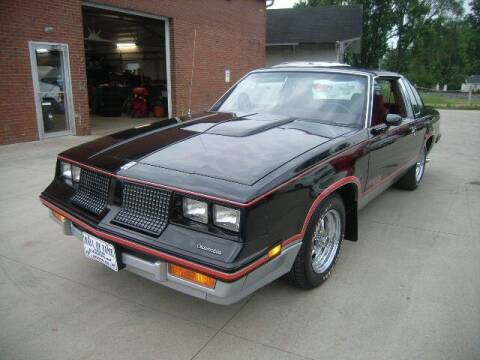 1983 Oldsmobile Cutlass Calais for sale at HALL OF FAME MOTORS in Rittman OH