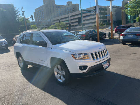 2016 Jeep Compass for sale at Time Motor Sales in Minneapolis MN