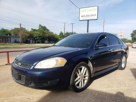 2010 Chevrolet Impala for sale at Shock Motors in Garland TX