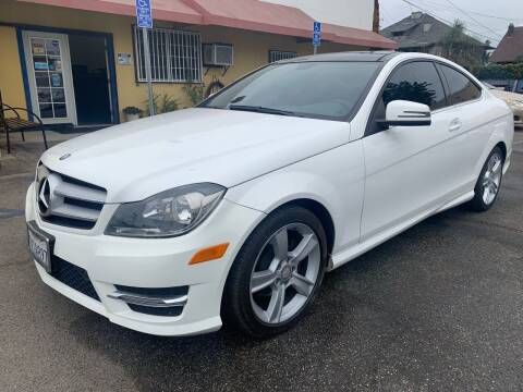2013 Mercedes-Benz C-Class for sale at Auto Ave in Los Angeles CA