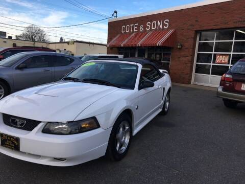 2004 Ford Mustang for sale at Cote & Sons Automotive Ctr in Lawrence MA