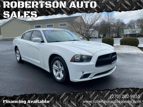 2012 Dodge Charger for sale at ROBERTSON AUTO SALES in Bowling Green KY