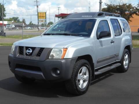 2005 Nissan Xterra for sale at MT MORRIS AUTO SALES INC in Mount Morris MI