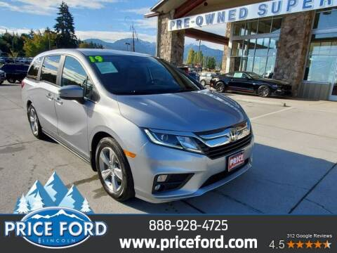 2019 Honda Odyssey for sale at Price Ford Lincoln in Port Angeles WA