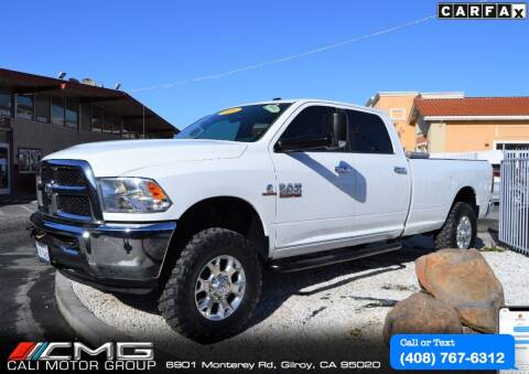 2014 RAM Ram Pickup 3500 for sale at Cali Motor Group in Gilroy CA