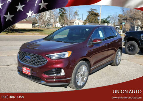 2020 Ford Edge for sale at Union Auto in Union IA