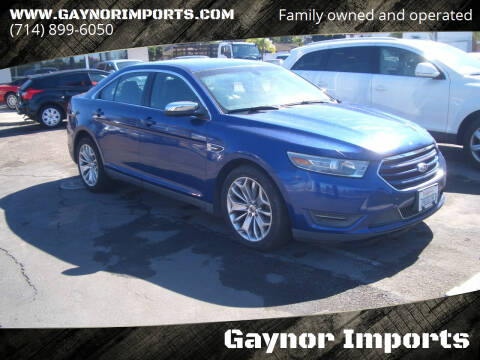 2014 Ford Taurus for sale at Gaynor Imports in Stanton CA