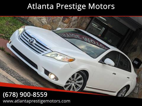 2011 Toyota Avalon for sale at Atlanta Prestige Motors in Decatur GA