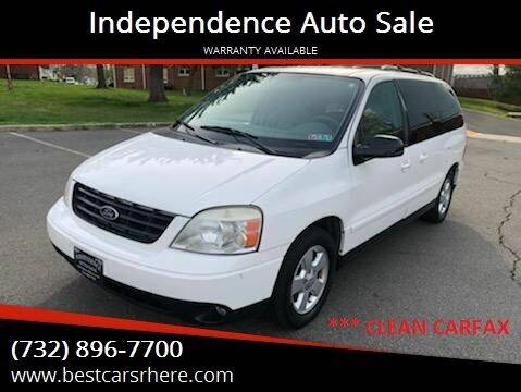 2004 Ford Freestar for sale at Independence Auto Sale in Bordentown NJ