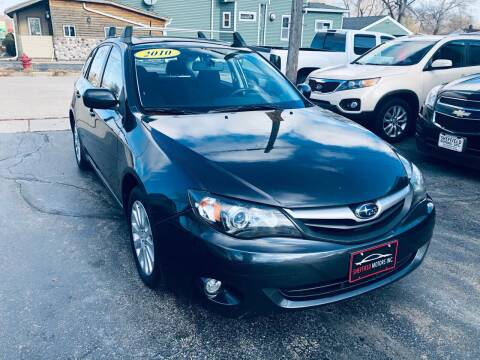2010 Subaru Impreza for sale at SHEFFIELD MOTORS INC in Kenosha WI