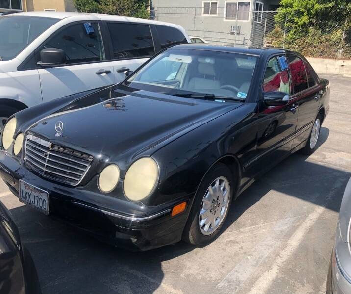 2000 Mercedes-Benz E-Class for sale at Eden Motor Group in Los Angeles CA