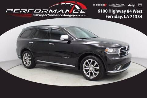 2018 Dodge Durango for sale at Auto Group South - Performance Dodge Chrysler Jeep in Ferriday LA