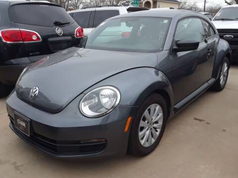 2014 Volkswagen Beetle for sale at Auto Haus Imports in Grand Prairie TX
