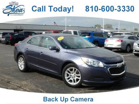 2015 Chevrolet Malibu for sale at Erick's Used Car Factory in Flint MI