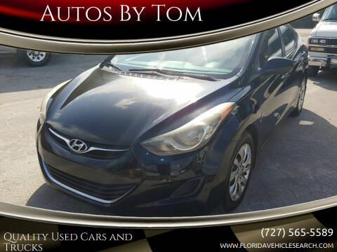 2012 Hyundai Elantra for sale at Autos by Tom in Largo FL