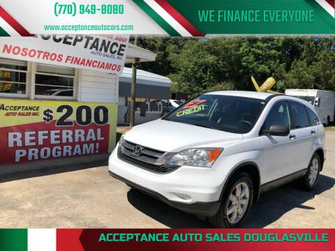2011 Honda CR-V for sale at Acceptance Auto Sales Douglasville in Douglasville GA