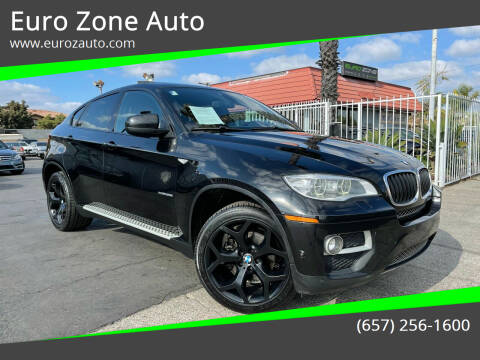 2013 BMW X6 for sale at Euro Zone Auto in Stanton CA