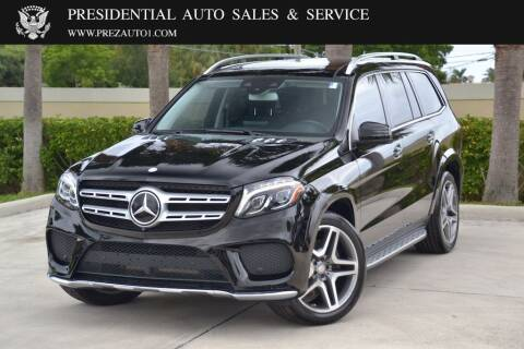 2017 Mercedes-Benz GLS for sale at Presidential Auto  Sales & Service in Delray Beach FL
