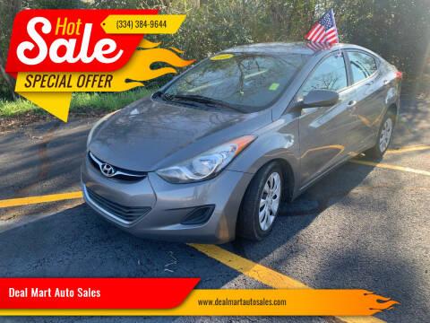 2013 Hyundai Elantra for sale at Deal Mart Auto Sales in Phenix City AL