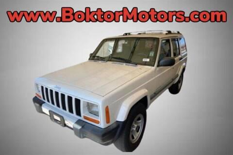 2000 Jeep Cherokee for sale at Boktor Motors in North Hollywood CA