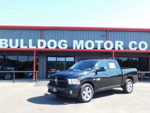 2017 RAM Ram Pickup 1500 for sale at Bulldog Motor Company in Borger TX