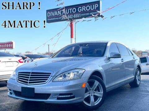 2010 Mercedes-Benz S-Class for sale at Divan Auto Group in Feasterville Trevose PA