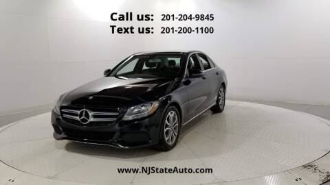 2017 Mercedes-Benz C-Class for sale at NJ State Auto Used Cars in Jersey City NJ