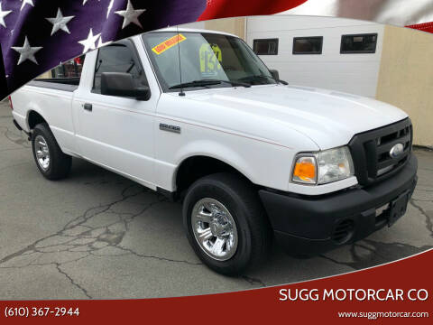 2008 Ford Ranger for sale at Sugg Motorcar Co in Boyertown PA