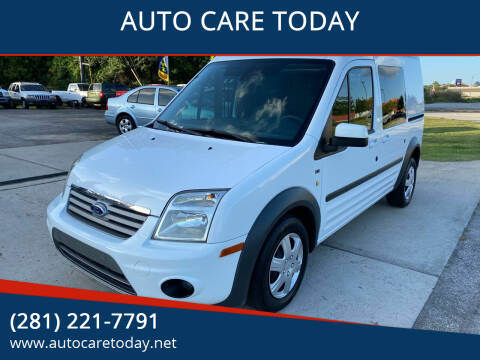 2012 Ford Transit Connect for sale at AUTO CARE TODAY in Spring TX