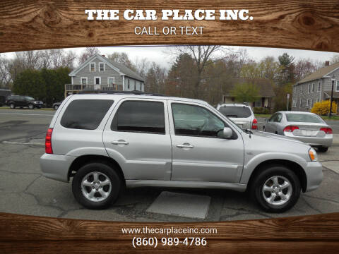 2005 Mazda Tribute for sale at THE CAR PLACE INC. in Somersville CT