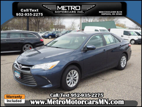 2018 Toyota Camry for sale at Metro Motorcars Inc in Hopkins MN