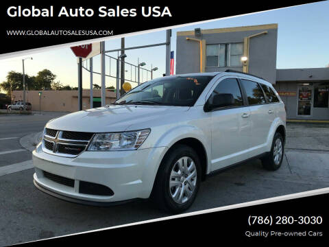2016 Dodge Journey for sale at Global Auto Sales USA in Miami FL