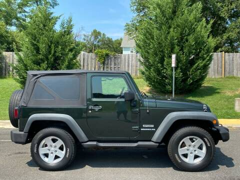 2010 Jeep Wrangler for sale at Superior Wholesalers Inc. in Fredericksburg VA