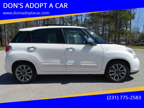 2015 FIAT 500L for sale at DON'S ADOPT A CAR in Cadillac MI