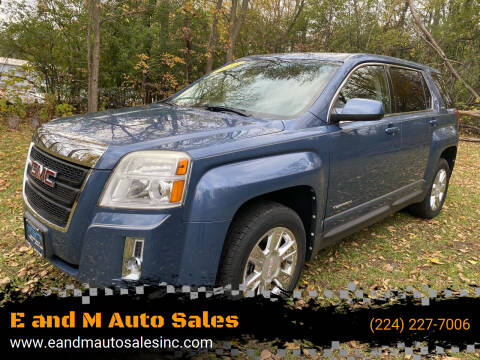 2011 GMC Terrain for sale at E and M Auto Sales in East Dundee IL
