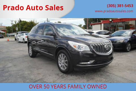 2016 Buick Enclave for sale at Prado Auto Sales in Miami FL