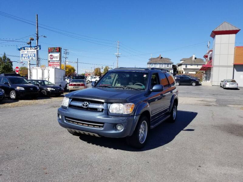 2006 Toyota Sequoia for sale at 25TH STREET AUTO SALES in Easton PA
