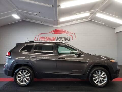 2014 Jeep Cherokee for sale at Premium Motors in Villa Park IL