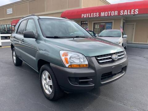 2007 Kia Sportage for sale at Payless Motor Sales LLC in Burlington NC