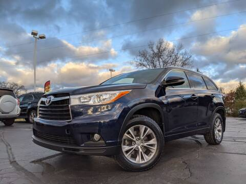 2014 Toyota Highlander for sale at West Point Auto Sales in Mattawan MI