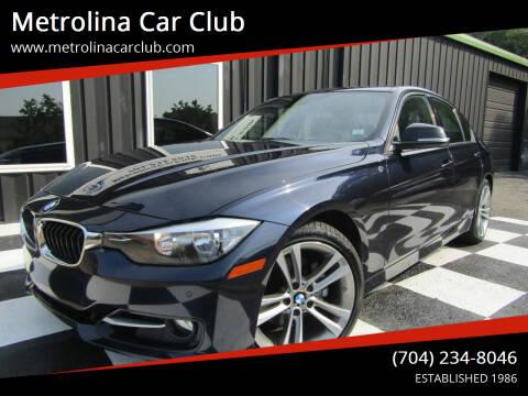 2014 BMW 3 Series for sale at Metrolina Car Club in Matthews NC